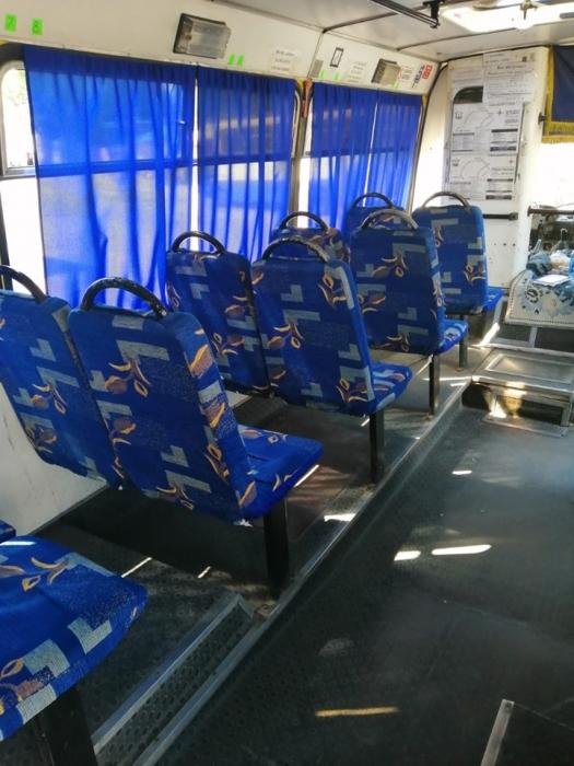 На маршруте №23 обновили салоны двух автобусов по требованию управления транспорта