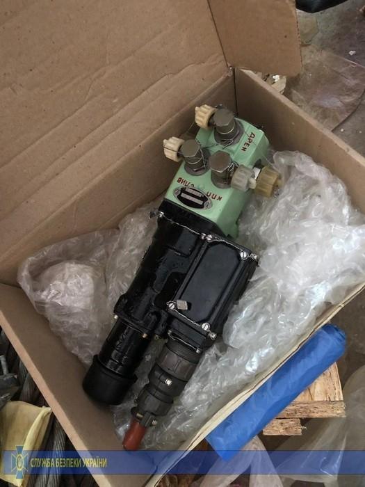 В Николаеве СБУ блокировала нелегальные поставки военного оборудования за границу с «Зори»