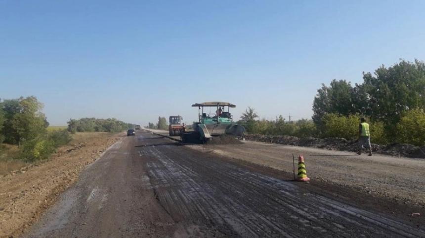 В САД рассказали, как на Николаевщине проходит капремонт автодороги Н-14