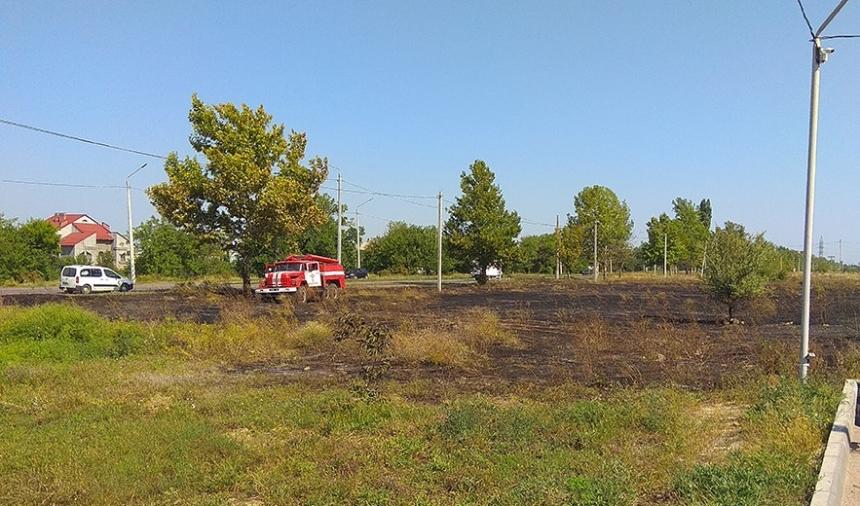За сутки на Николаевщине выгорело 20 га полей