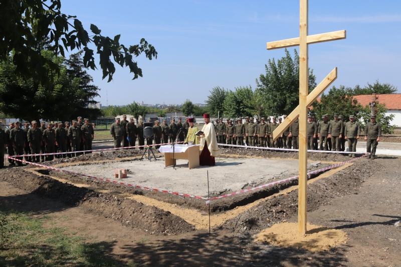 В Николаеве начато строительство военной часовни святителя Николая Чудотворца