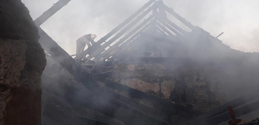 На Николаевщине горело отделение «Укрпочты»