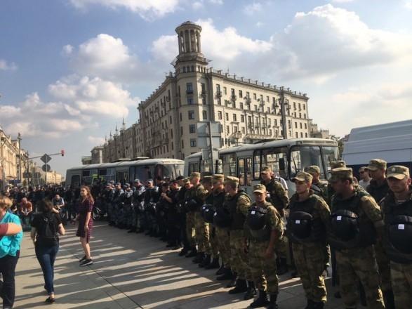 В российской столице состоялось масштабное Шествие против политических репрессий