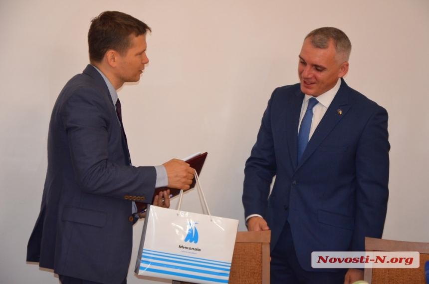 Вдох на 20 млн евро: в Николаеве подписали кредитный договор с ЕБРР