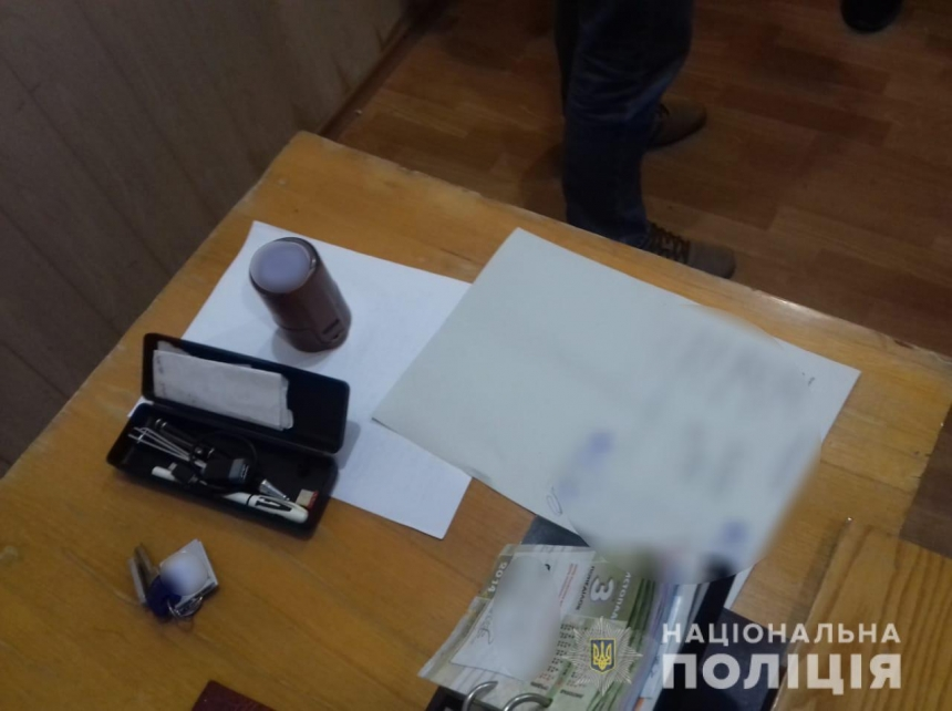 В Николаеве на взятке задержали члена комиссии Госфонда поддержки фермерских хозяйств