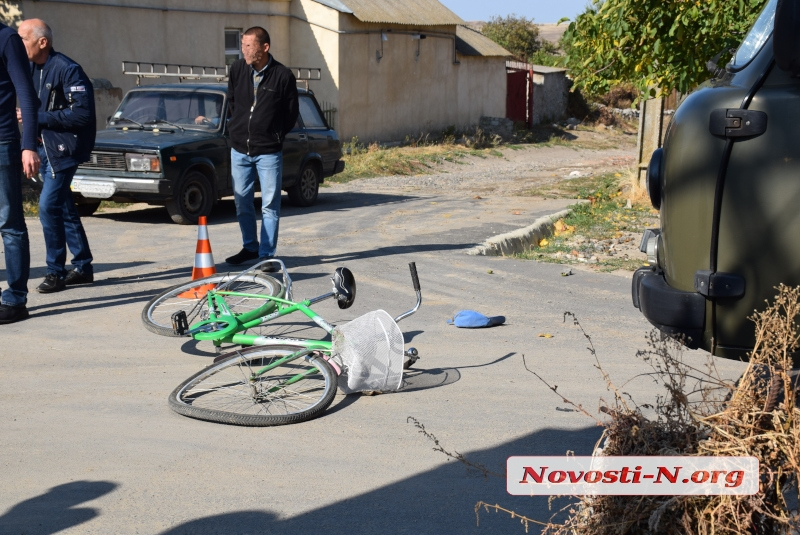 В Терновке велосипедист лоб в лоб столкнулся с автомобилем «облэнерго»