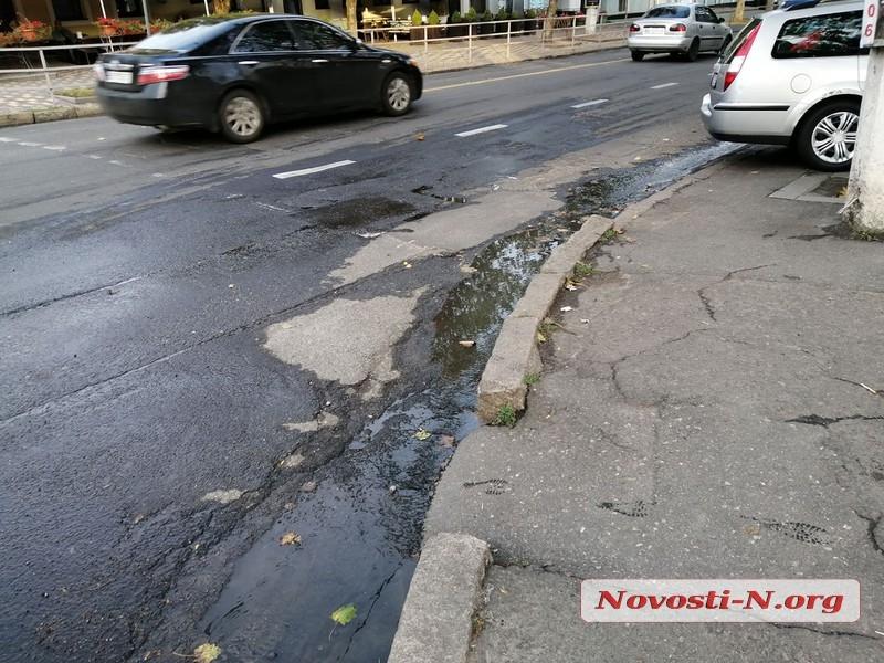 Центральные магистрали Николаева снова заливают фекальные реки