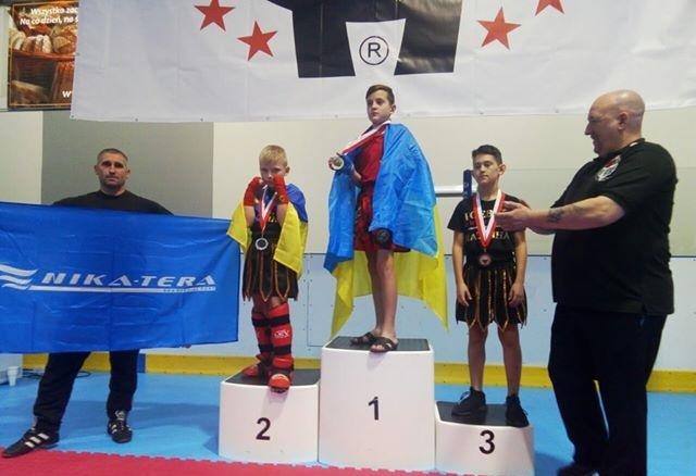 Юные кикбоксеры из Николаева завоевали призовые места на Чемпионате Мира