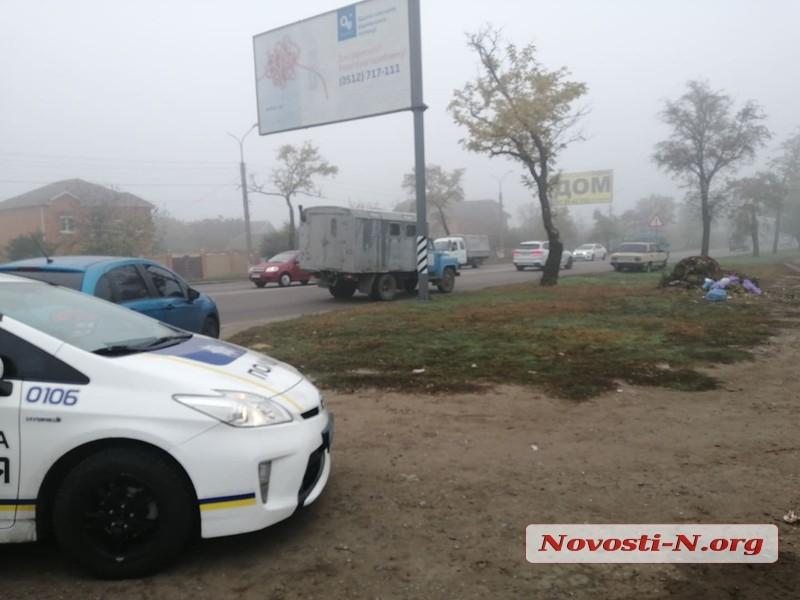 В Николаеве ВАЗ сбил бабушку на пешеходном переходе