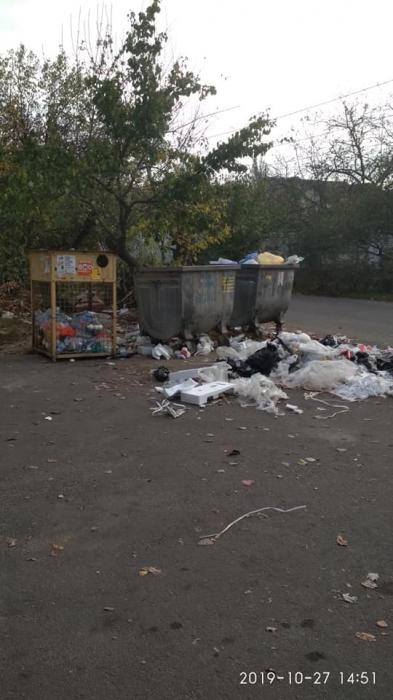 В Николаеве горожане пожаловались на невывезенный мусор