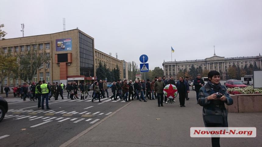 В Николаеве воины-интернационалисты и пенсионеры МВД почтили память участников ВОВ