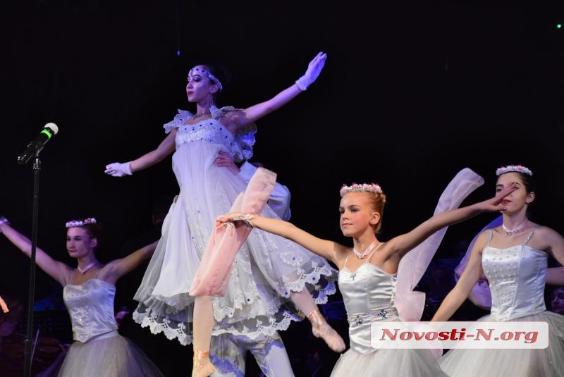 Night Performance: в Николаеве состоялось шоу «Ночь в театре»