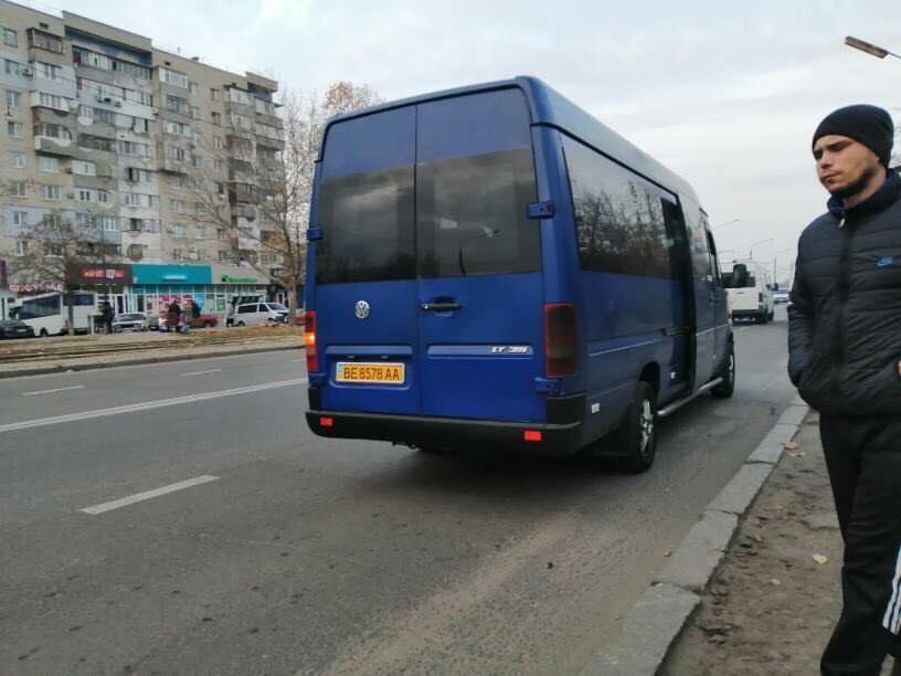 В николаевских маршрутках можно «провалиться»
