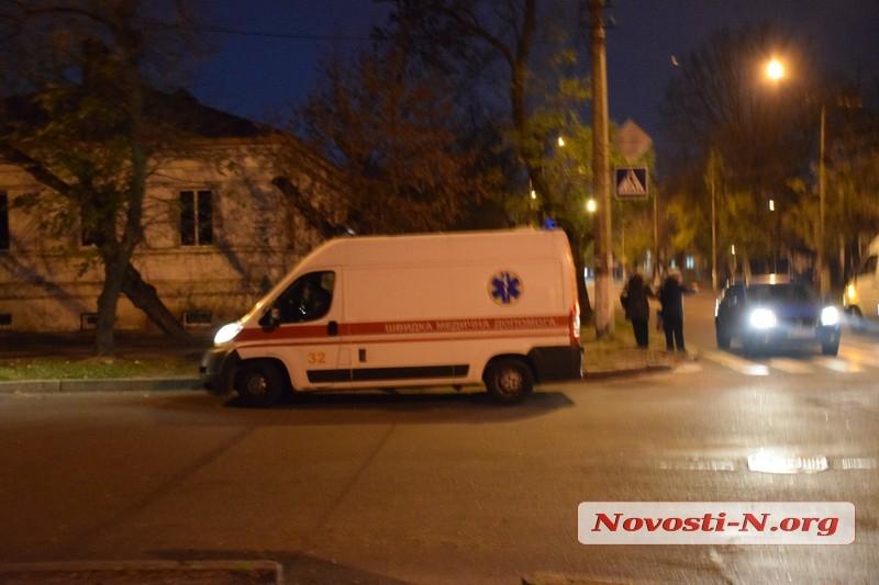 В Николаеве велосипедист не поделил дорогу с маршруткой №13