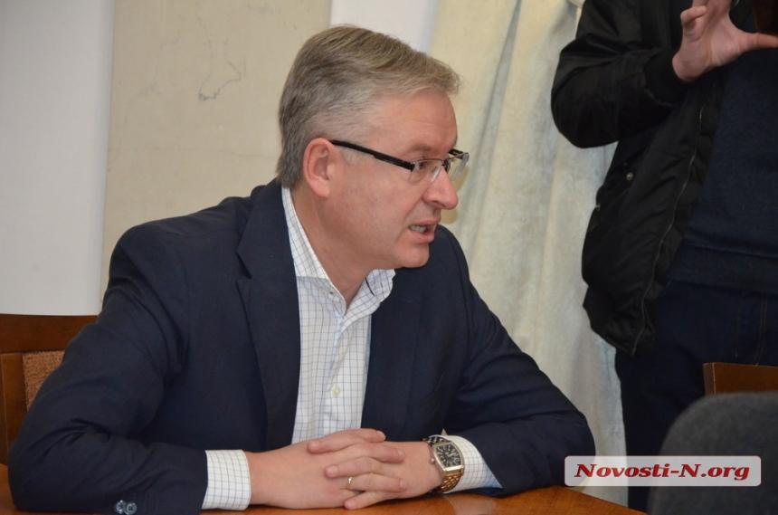 """Директор КП """"Николаевводоканал"""" Борис Дуденко"""