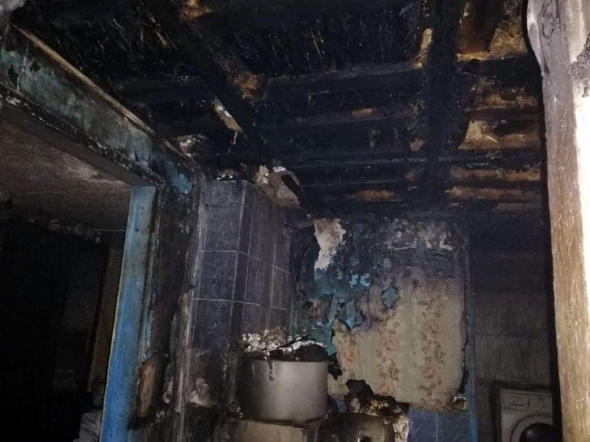 На Николаевщине горела летняя кухня
