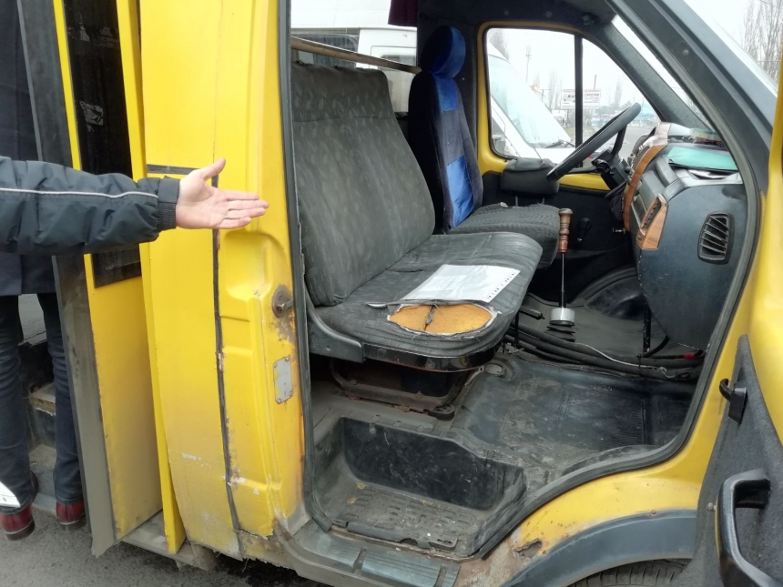 В Николаеве с маршрутов сняли два микроавтобуса - из-за санитарного состояния