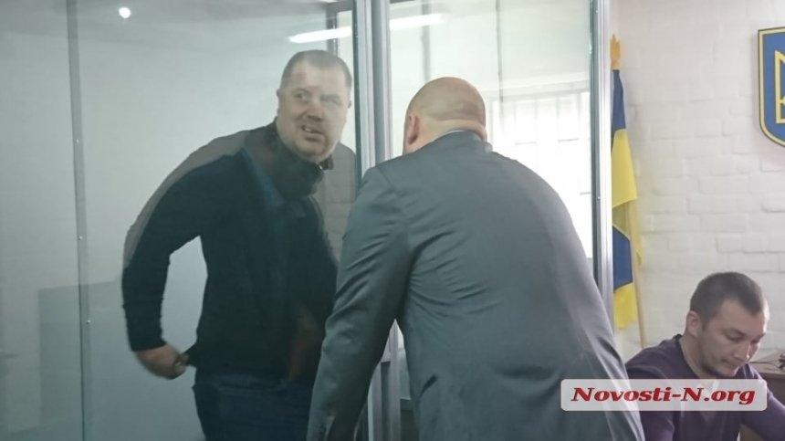 Суд Николаева отправил Осетра в СИЗО без права внесения залога
