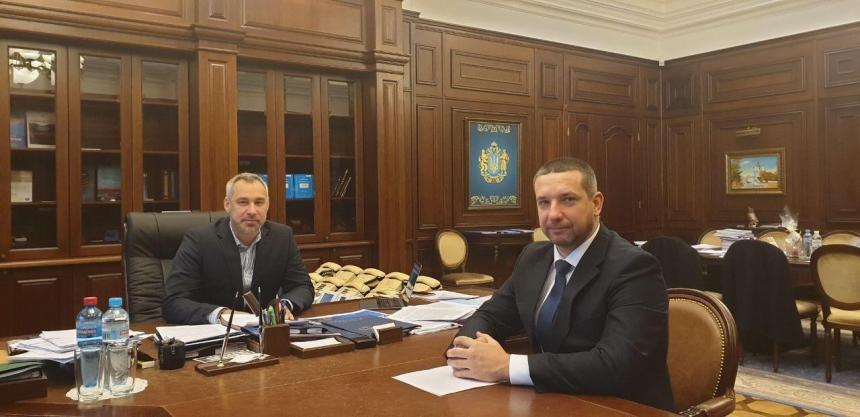 Александр Стадник встретился с Генпрокурором относительно ситуации с заводом «Океан»
