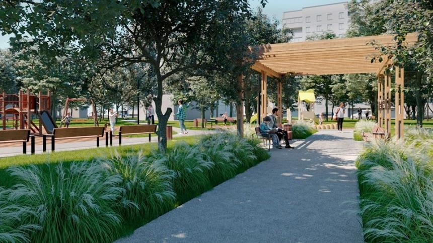 Департамент ЖКХ показал, каким в Николаеве после реконструкции за 10 млн будет «Витовский» сквер