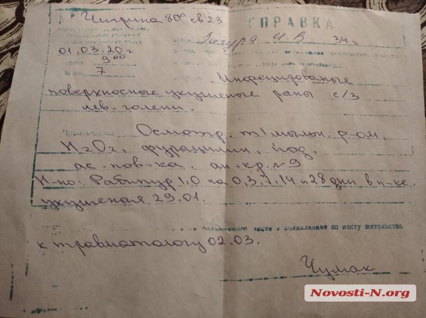 В Николаеве во дворе многоэтажки собаки сильно покусали женщину