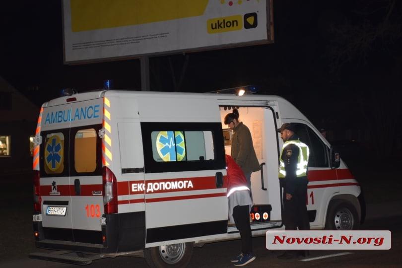 В Николаеве автомобиль сбил школьницу на пешеходном переходе