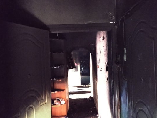 В Южноукраинске горела 3-комнатная квартира: эвакуировали 12 человек