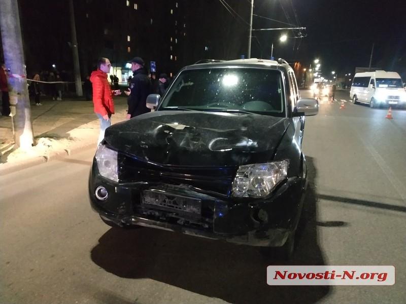 В Николаеве «Митцубиси» насмерть сбил девушку на пешеходном переходе. ДОБАВЛЕНО ВИДЕО
