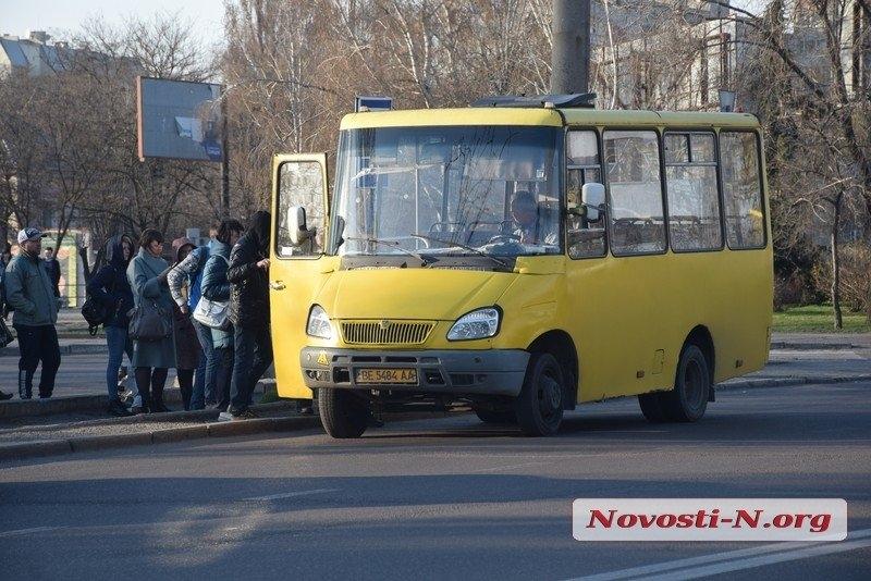 В Николаеве в субботу не вышли на линии 266 маршруток