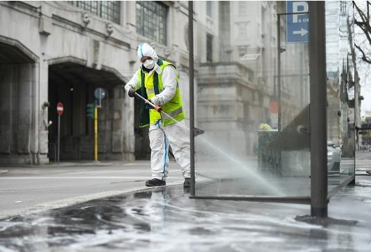 В Николаеве будут мыть дороги с гипохлоритом натрия
