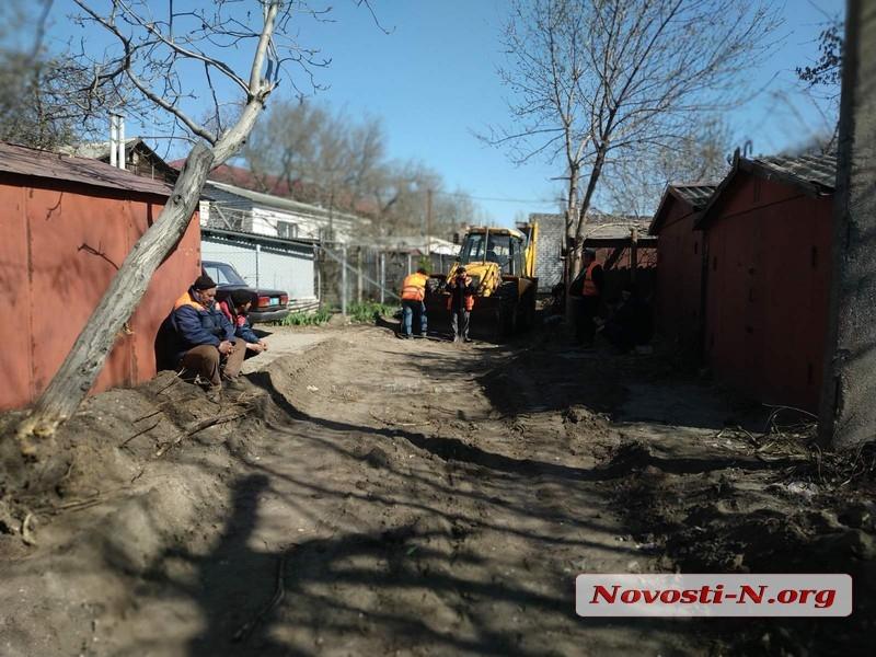В Николаеве во время земляных работ нашли четыре магазина и более сотни патронов