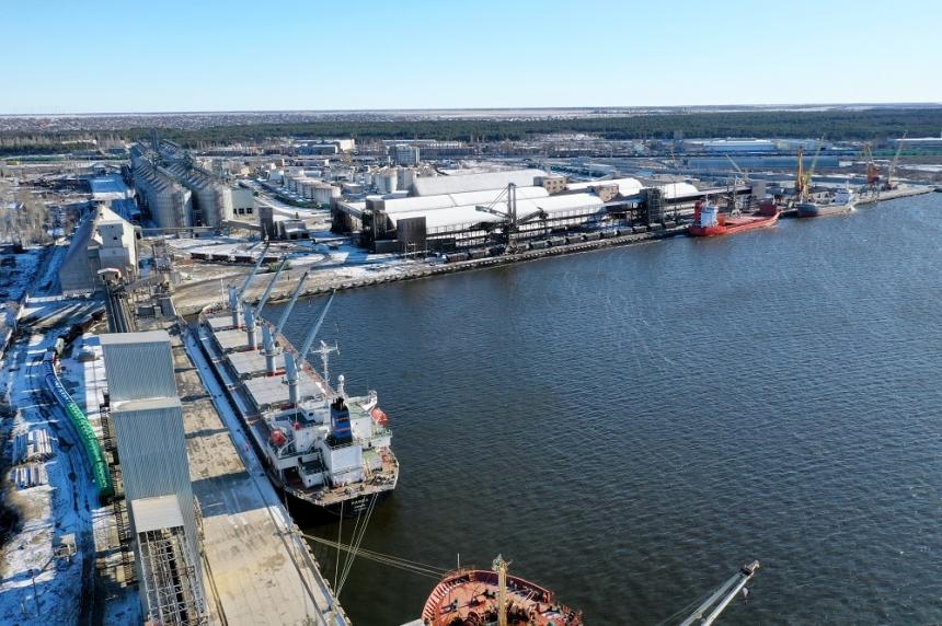 В первом квартале порт «НИКА-ТЕРА» сохранила рост грузооборота