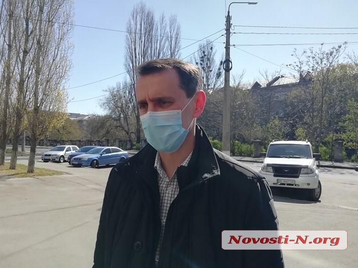 В Николаев прибыл главный санврач Украины: будет проверять, почему у нас нет COVID-19