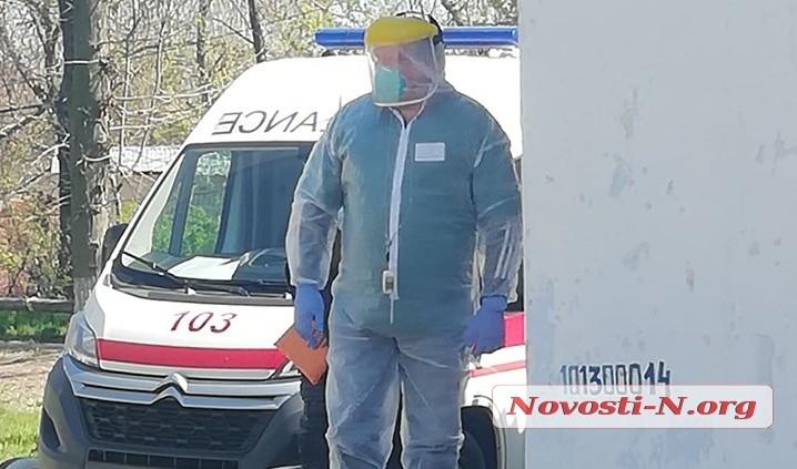 На Николаевщине из 16 медиков, контактировавших с больными, у одного подтвердился коронавирус