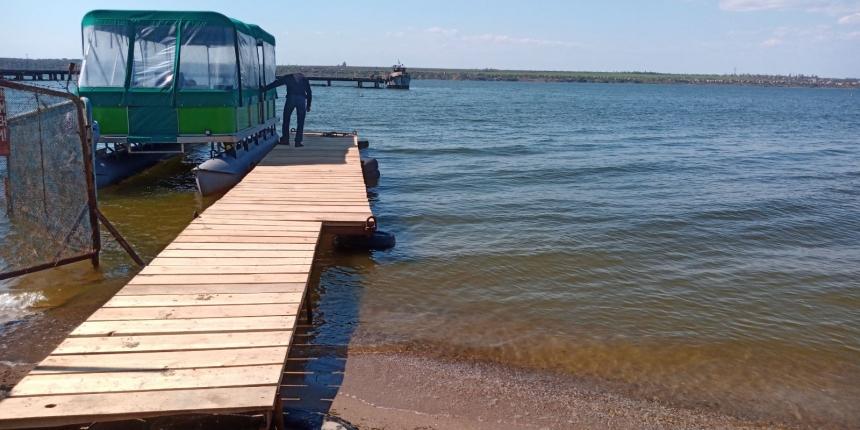 С 1 мая из Николаева начал курсировать речной трамвайчик