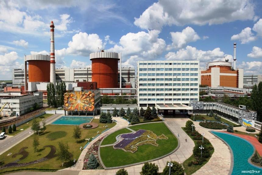 Южноукраинскую АЭС дезинфицируют из-за вспышки коронавируса. ВИДЕО