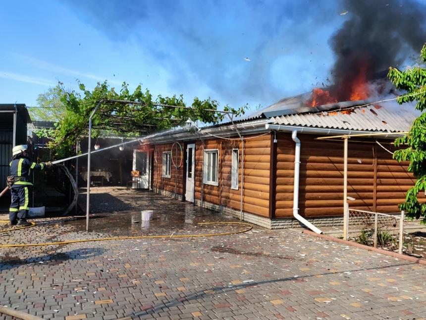 На Николаевщине загорелся дом - в ванной замкнуло электропроводку