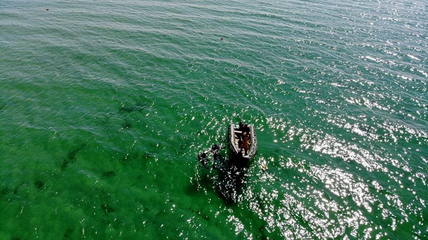 На Николаевщине водолазы провели разминирование акватории возле Кинбурнской косы