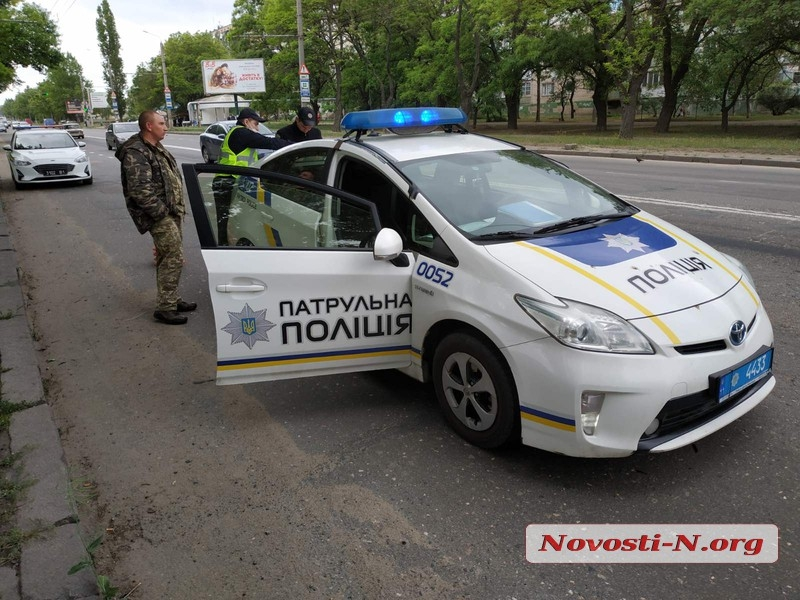 В Николаеве столкнулись «Славута» и DAF
