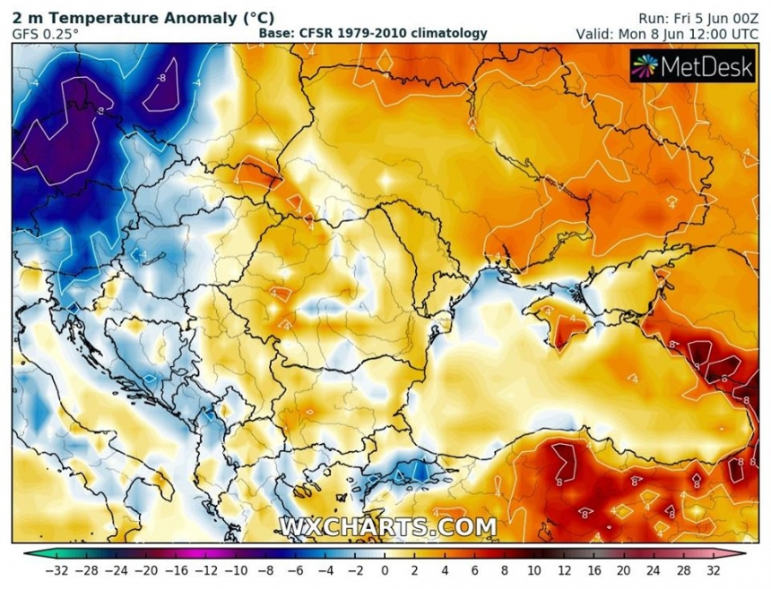 В выходные на Николаевщине потеплеет до +31°