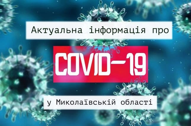 В Николаевской области 2 новых случая COVID-19: выздоровели 200 человек