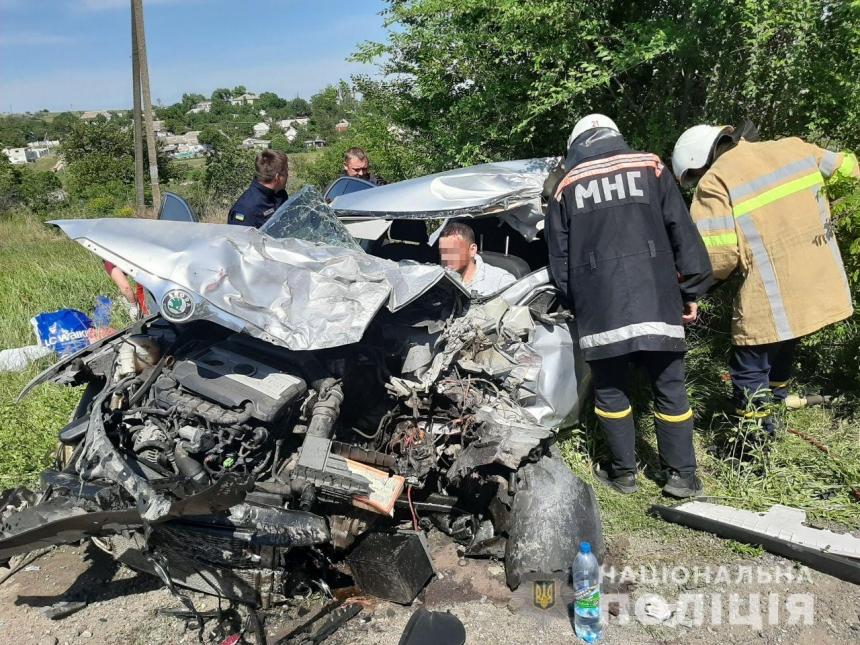 Следователи ищут свидетелей ДТП на Николаевщине, в котором пострадали три человека
