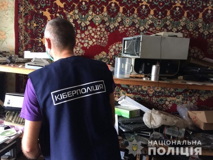 На Николаевщине мужчина организовал незаконную продажу доступа в Интернет, мешая местным провайдерам