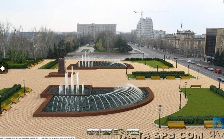 В Николаеве показали проект реконструкции центральной площади, разрабо