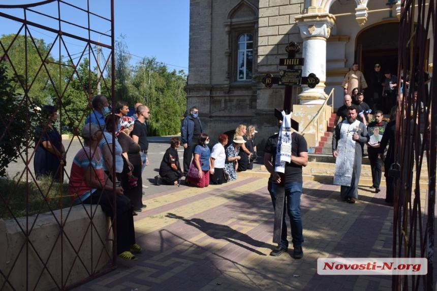 В Николаеве простились с главой «Свободы» Демидом Губским — сегодня у него был день рождения