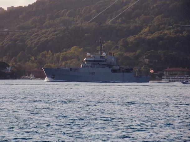 В Черное море вошел корабль британских ВМС