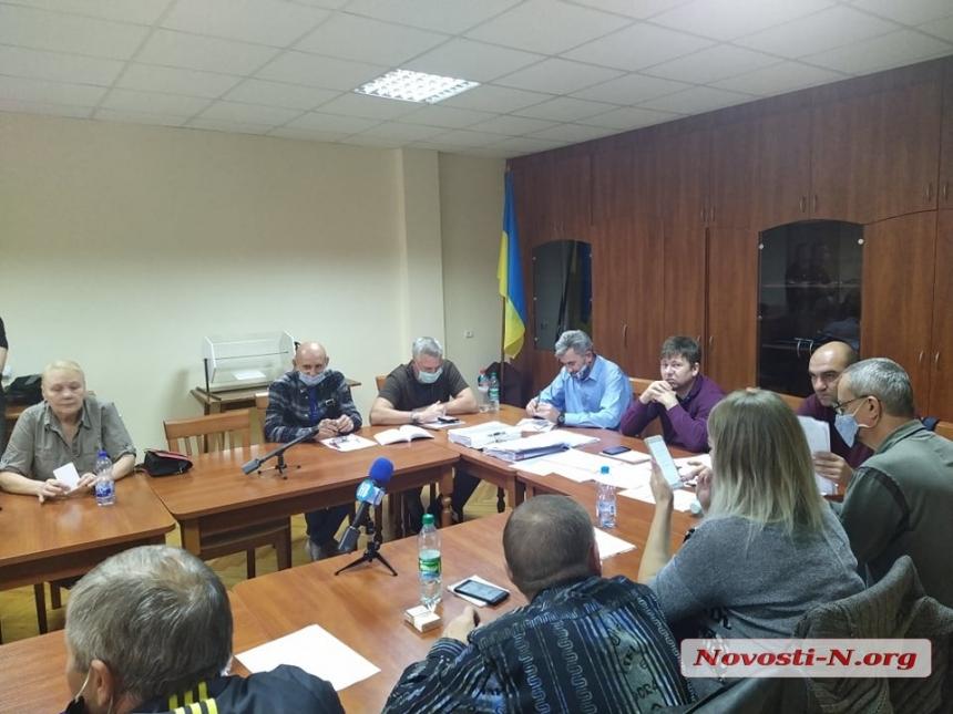 В Николаеве облизбирком не смог проголосовать «за» или «против» регистрации кандидатов от ОПЗЖ
