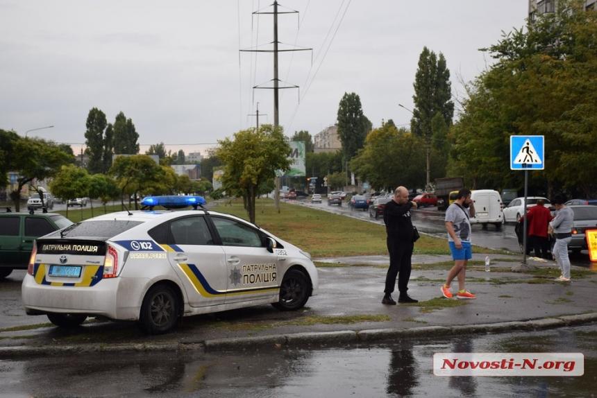 В Николаеве «ВАЗ» сбил пожилую женщину на пешеходном переходе