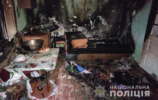 На Буковине женщина после ссоры с сожителем устроила самоподжог