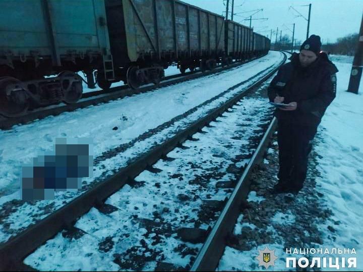 В Николаевской области поезд насмерть сбил пешехода